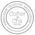 selo fornecedor criativo selecionado Colher de Chá Noivas